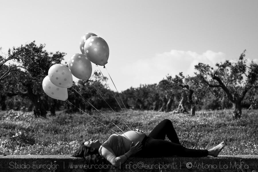 Maternity - sessione fotografica bambini - foto Antonio La Malfa