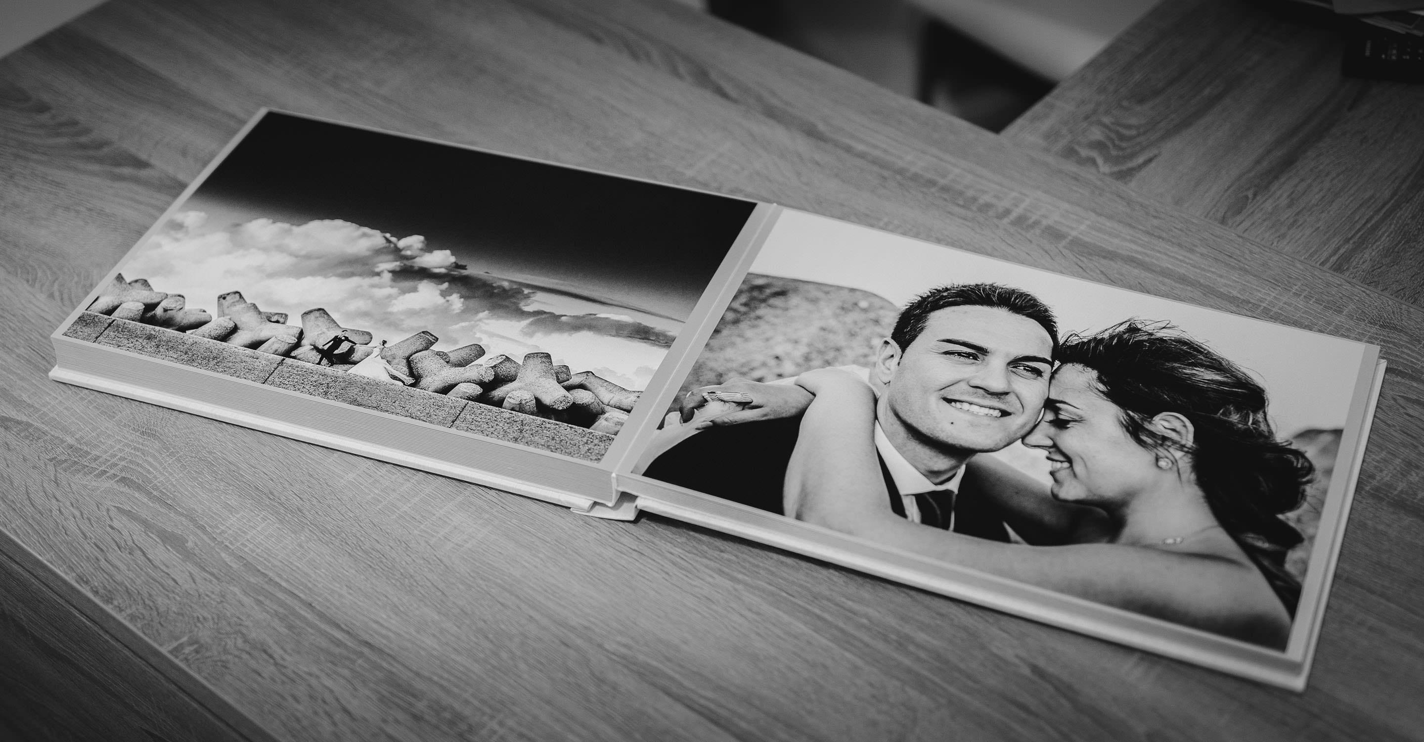 Album fotografico di matrimonio