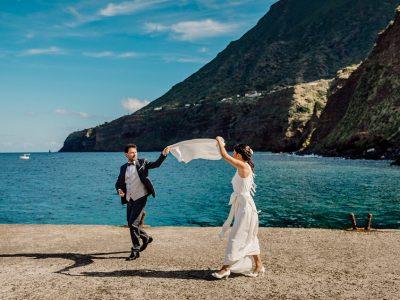 Matrimonio a Salina - Wedding photographer Sicily