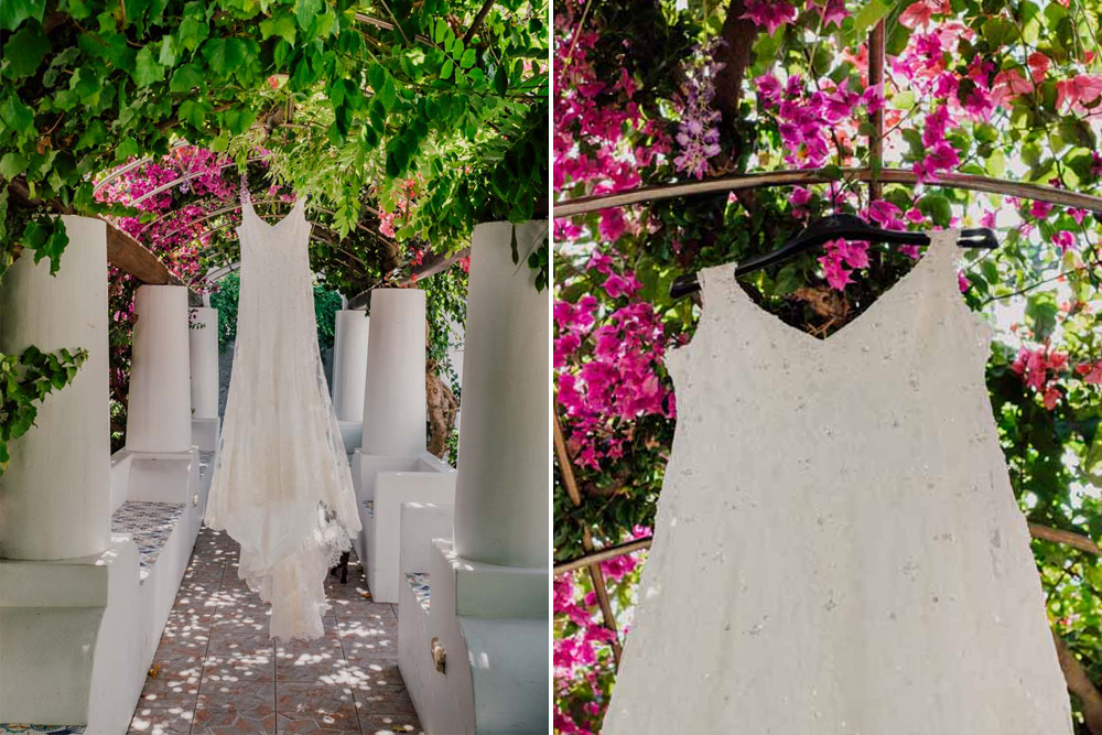 Wedding dress - bride Aeolian style