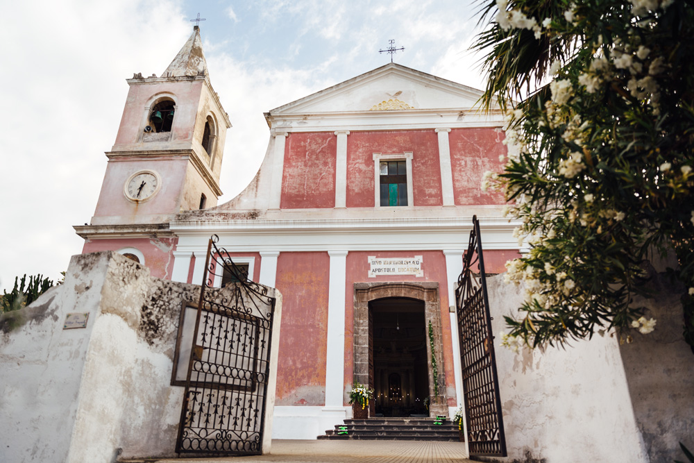 Chiesa per matrimonio alle isole Eolie