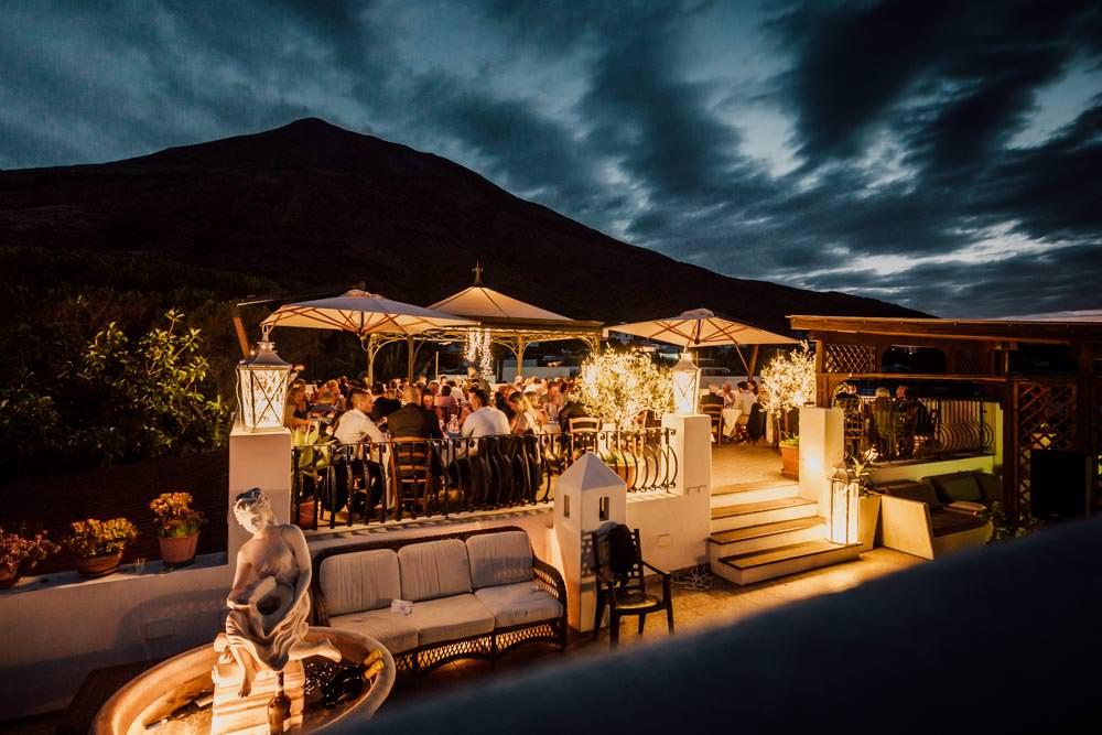 ristorante alle isole Eolie - Stromboli