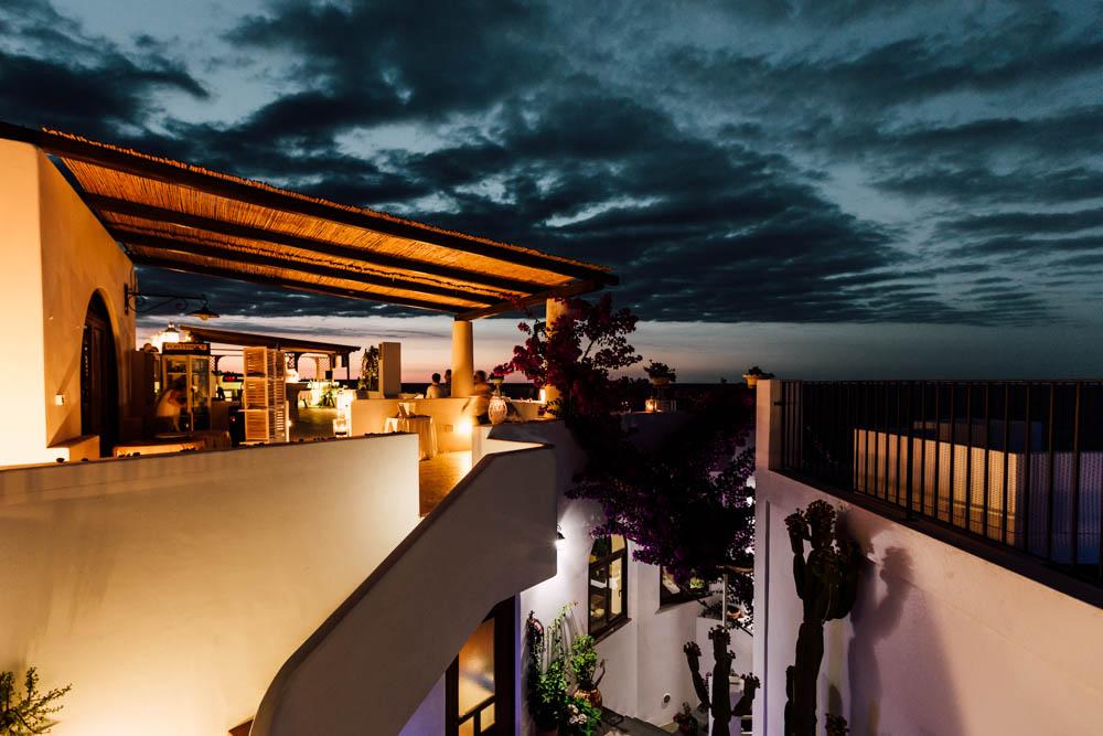 ristorante per matrimonio a Stromboli - wedding reception Aeolian Islands