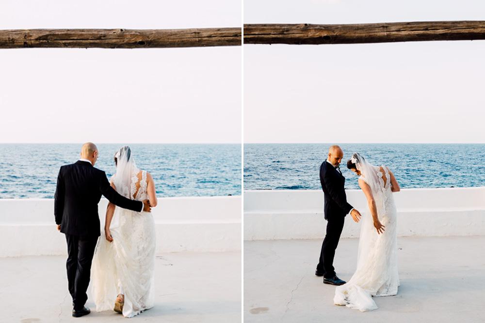 matrimonio in stile eoliano a Stromboli